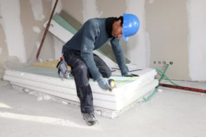 this image shows chicago drywall contractor