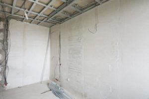 this picture shows one of the project of chicago popcorn ceiling removal team